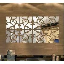 Espelho Decorativo   Ramos   1,2x0,60m   Sala Quarto Grande