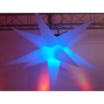 Sputnik 11 Pontas Só Pele(tecido),dj,decoração,efeito,festa