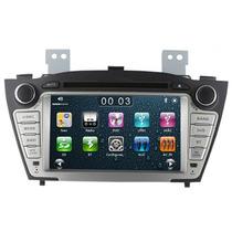 Central Multimidia Hyundai Ix35 Gps Dvd Tv Bluetooth Cam Ré