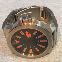 Relógio Hugo Boss 50mm Aço Novo