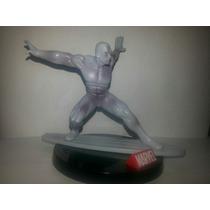 Bonecos Super Herois Marvel - Surfista Prateado 10cm