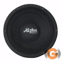 Alto Falante Alpha Khromus 18 Alpha 1200w 8r Goiás Musical