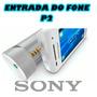 Caixa De Som Sony Para Celular A Pilha Aaa Encaixe Pelo P2