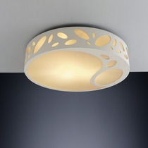 Luminaria Tipo Plafon Bronzearte Petal Redondo