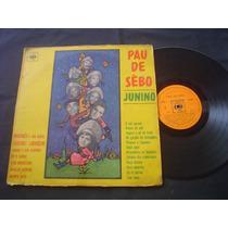 Lp Pau De Sebo Junino-1967-cbs-marines-osvaldo Oliveira Etc