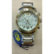 Relógio Original Atlantis Dourado Masculino