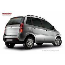 Engate Reboque Fiat Idea Todos 2010 Em Diante Tração 500kg