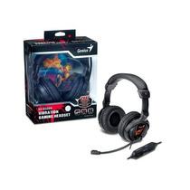 Headset Gx Gaming Genius Hs-g500v Gamer Funcao Vibracao Usb