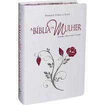 Bíblia Sagrada De Estudo Da Mulher Grande + Capinha + Frete