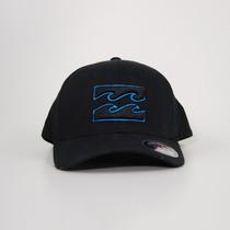 Boné Billabong All Day Flexfit Black/blue