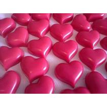 50 Mini Sabonetes Coração Lembrancinha 15 Anos ,casamento