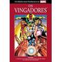 Hq Vingadores Salvat Capa Dura Vermelha + Poster Gigante