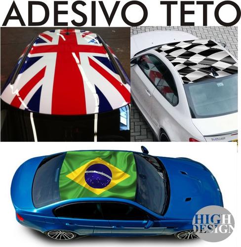 Artesanato Lembrancinhas De Aniversario Infantil Passo A Passo ~ Adesivo Teto Ou Cap u00f4 Carro Bandeiras Vários Modelos Racing (Adesivos de Parede) a BRL 149 9