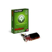 Placa De Vídeo Vga Powercolor Ati Radeon Hd5450 1gb Ddr3 64-