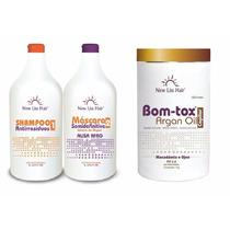 Escova Semi Definitiva + Botox Sem Formol New Liss Hair