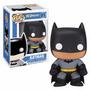 Dc Boneco Vinil Funko Batman Batgirl Robin Super Homem 10cms