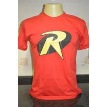 Camisetas Robin Camisa Super Herói Engraçada
