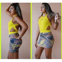 Vestido Feminino Amarelo