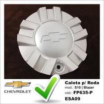Calota Tampa Miolo Roda Original Chevrolet S10 Blazer Prata