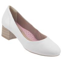 Sapato Scarpin Ramarim Liso Salto Baixo Feminino 1595101