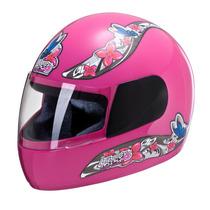 Capacete Moto Pro Tork Feminino Liberty Four For Girls Preto