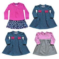 Vestido Infantil Inverno Menina Kit Com 2 Peças Frete Grátis