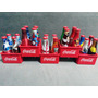 Kit Completo Miniatura Garrafinhas Coca Cola Copa 2014