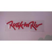Emblema Rock In Rio Fox Original Volkswagen