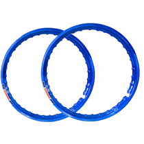 Aro Moto Aluminio Colorido Cg Fan 150 Todas Azul Royal Top