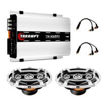 Modulo Potencia Ts400 400 Rms + Falante 6x9 Sel 240 Watts