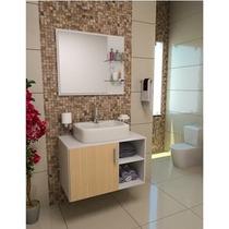 Gabinete / Armário Banheiro Taranto 80