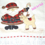 Pano De Prato Patch Aplique Tema Natal