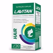 Lavitan Hair - Igual Imecap Hair 30 Cápsulas Para Os Cabelos