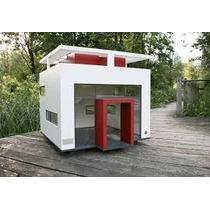 Casa De Cachorro Modelo Archi Glass - Grande Porte