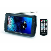 Tela Lcd Monitor Mini Tv Portatil 7 Polegadas Dvd Automotivo
