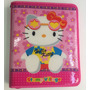 Fichario Hello Kitty (caderno Universitário Argolado-zipper)