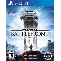 Star Wars Battlefront Ps4 Pre Venda Midia Fisica Novo