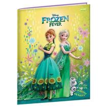 Caderno Brochura 1/4 96 Folhas Capa Dura Jandaia - Frozen 03