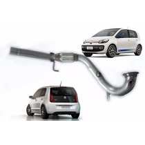 Downpipe Vw Up Tsi 1.0 Turbo Inox 409 2.5 Polegadas