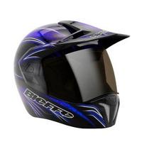 Capacete Bieffe New Freestyle Preto/azul