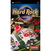Jogo Hard Rock Casino Para Playstation Portatil Psp A5718