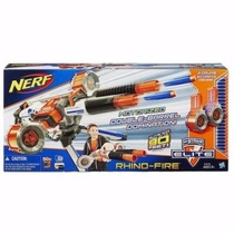 Lançador Nerf N- Strike Elite Rhino Fire C/ 50 Dardos Hasbro