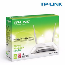Roteador Tp-link 3g/4g Wireless N Router Tl-mr3420 300mbps