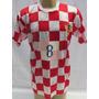 Camisa De Futebol Da Seleção Da Croacia - #8 - Babic - 2006