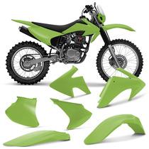 Kit Plastico Crf230 Roupa Crf 230 Completa Verde Pro Tork