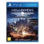 Helldivers Edição Final Do Super Earth Ps4 Mídia Física C/nf