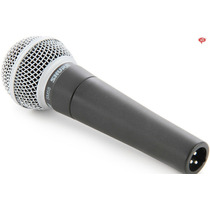 Microfone Shure Dinamico Sm58 Lc 100% Original