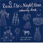 Livro Para Colorir - Rosie Flos Nighttime Crianças Roz Stre