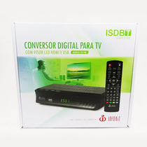 Conversor Digital P/ Tv C/ Visor Led Hdmi E Usb