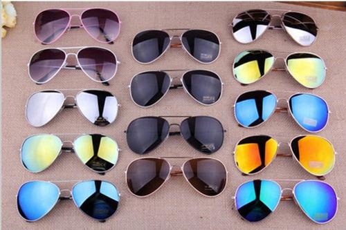 4a32c5ef45052 Lote 10 Oculos Sol Aviador Unissex Sem Marca Atacado Revenda
